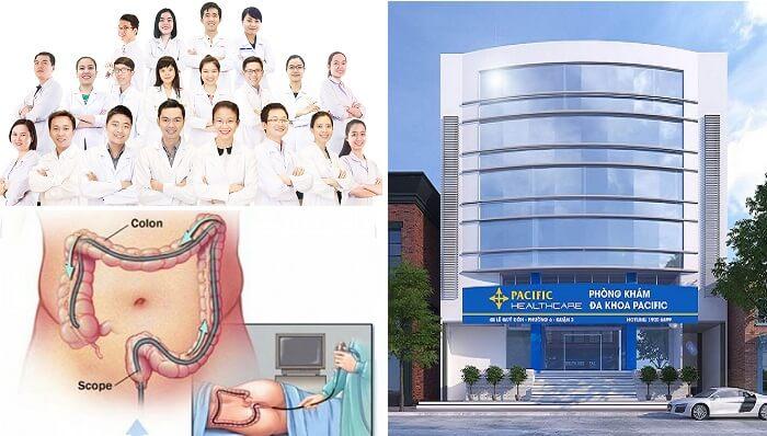 nội soi trực tràng an toàn tại đa khoa pacific
