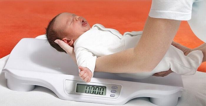 Trẻ bị nhẹ cân