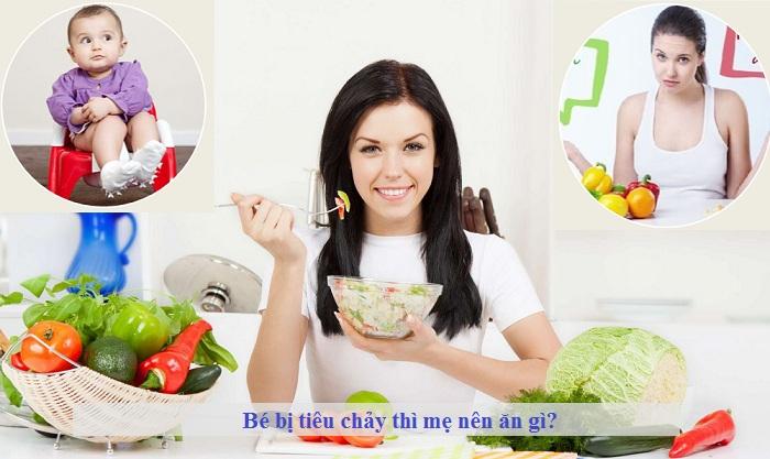 Bé bị tiêu chảy mẹ nên ăn gì?
