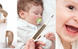 Trẻ bị tiêu chảy khi mọc răng